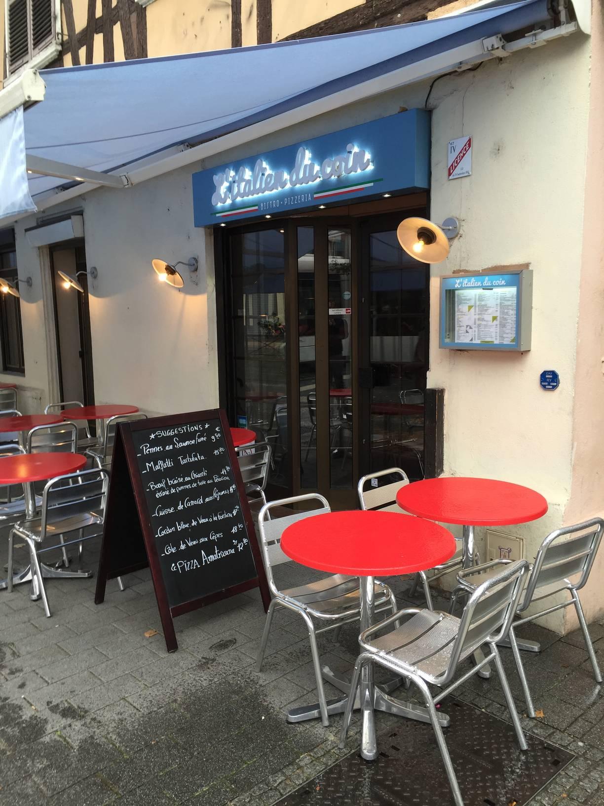italien du coin restaurant strasbourg pizza 4 blog kapou. Black Bedroom Furniture Sets. Home Design Ideas