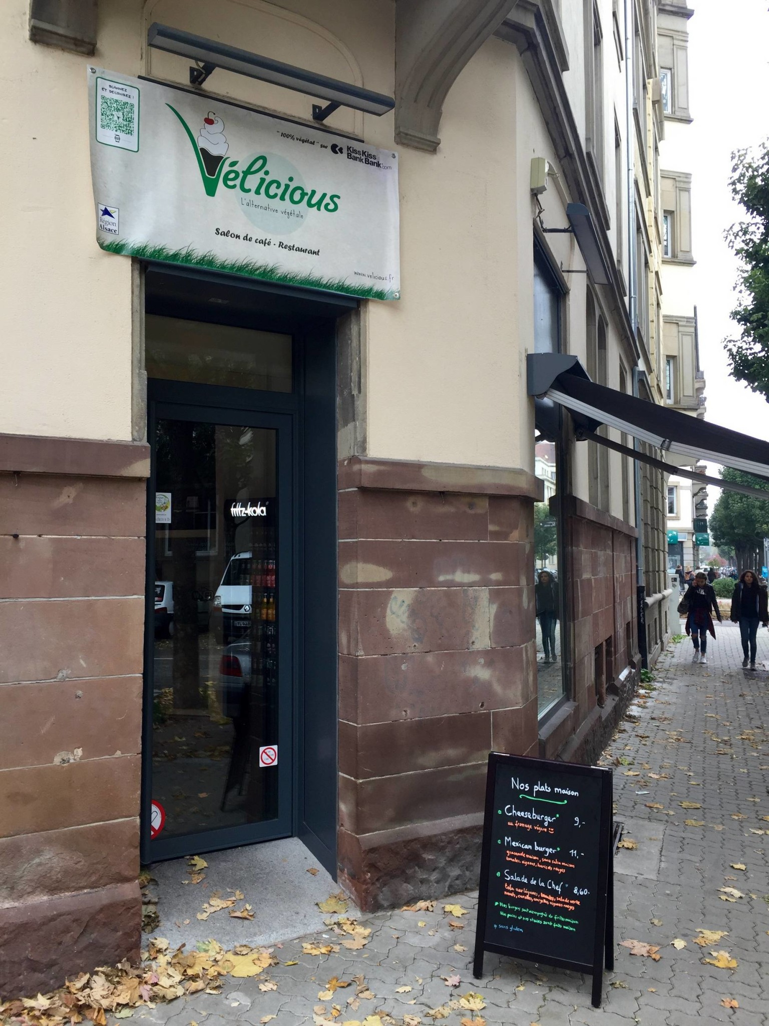 velicious restaurant vegetarien strasbourg 2 blog kapou. Black Bedroom Furniture Sets. Home Design Ideas